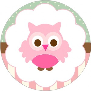 owl party cupcake toppers girls 1 300x300