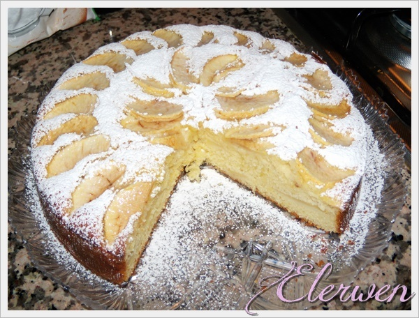 torta mele yogurt 002